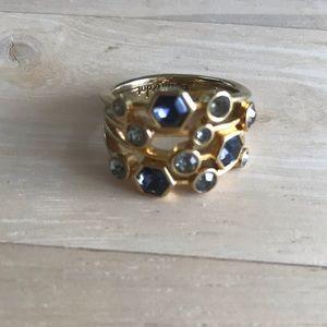 Stella & Dot Jewelry - Stella & Dot geo stone stacked look ring